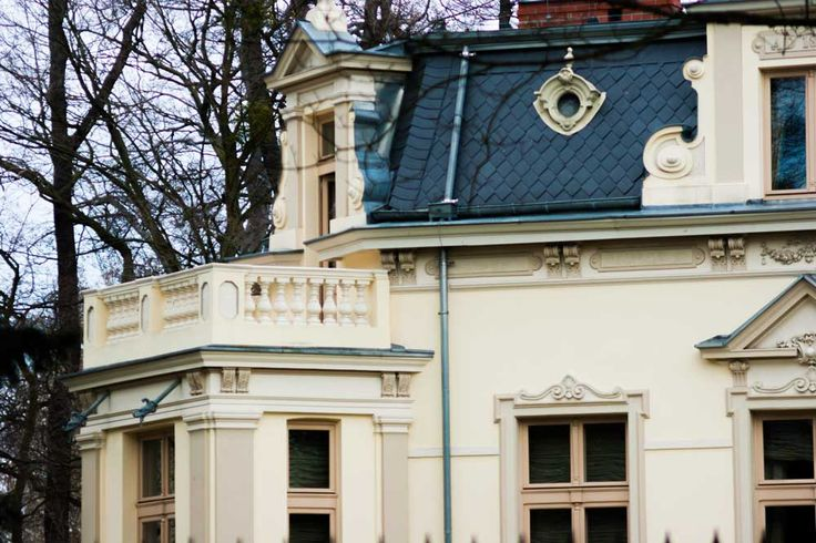 One of my favorite mansions in Sopot.