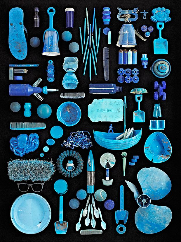 Found in Nature, Photos of Artfully Arranged Beach Trash Collected Around New York Harbor