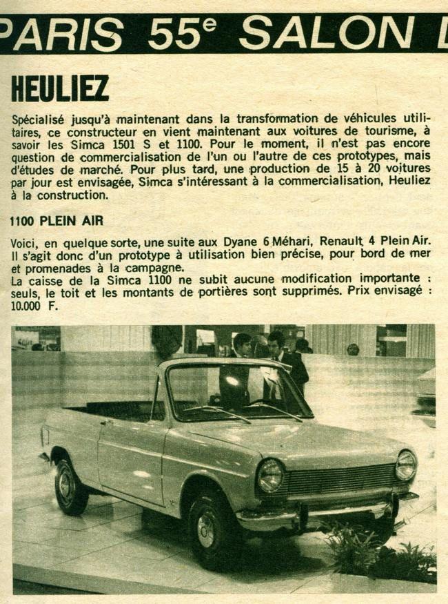 Simca Sahariana 1100 - 1968
