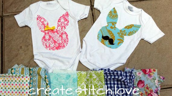 Check out this item in my Etsy shop https://www.etsy.com/listing/222066836/easter-onesies-mto