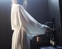Yoisho Robe. Handmade in Byron Bay. Organic cotton/ hemp.