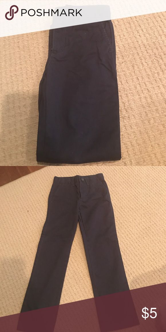 Boys Navy blue pants EUC boys navy blue chino pants slim fit cate and Jack for Target Bottoms Casual