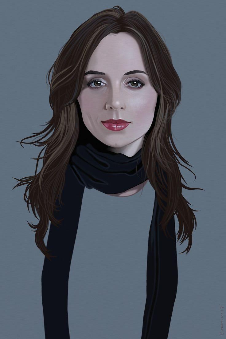 Eliza Dushku, Garry Fry on ArtStation at https://www.artstation.com/artwork/OlYZy