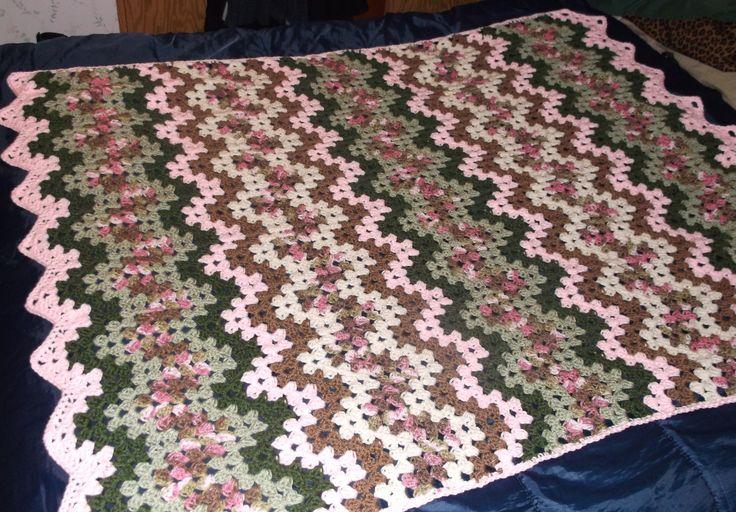 261 besten Crochet Afghans / Blankets Bilder auf Pinterest   Crochet ...