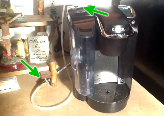 coffee pots that hook up to water linedating website for truckers