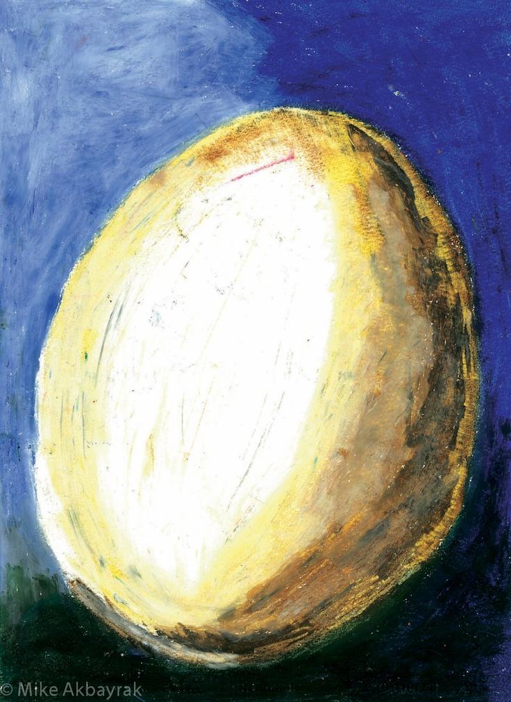 Egg - by Mike Akbayrak