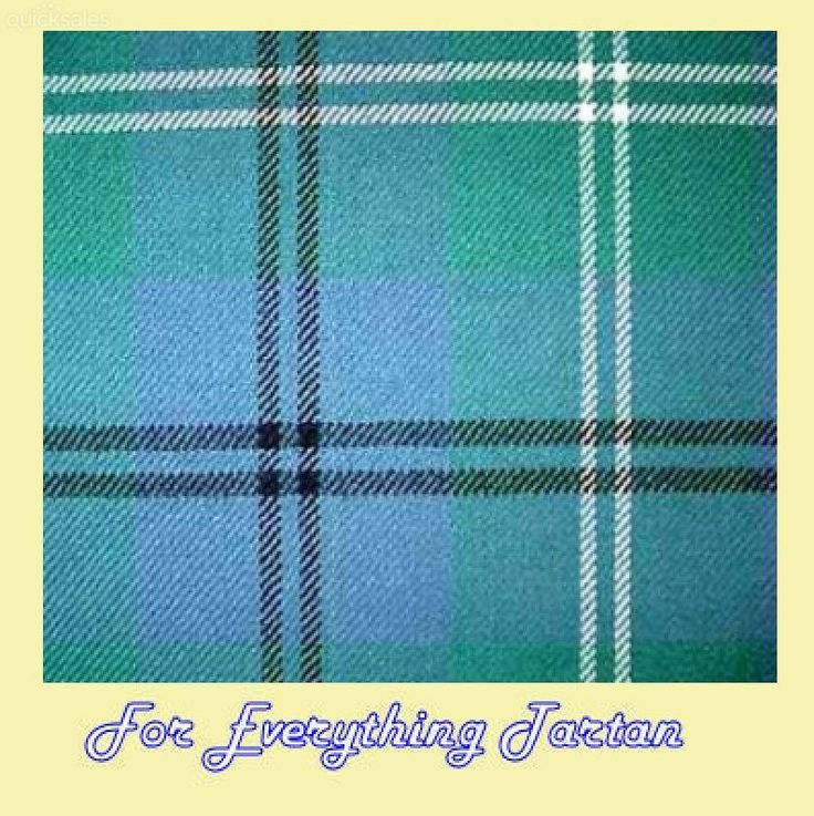 Oliphant Melville Ancient Tartan Polywool Plaid Fabric Double Width by JMB7339 - $80.00