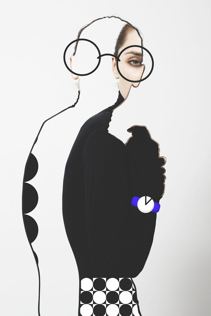 Abstract Portraits Editorial for One Magazine NY on Behance