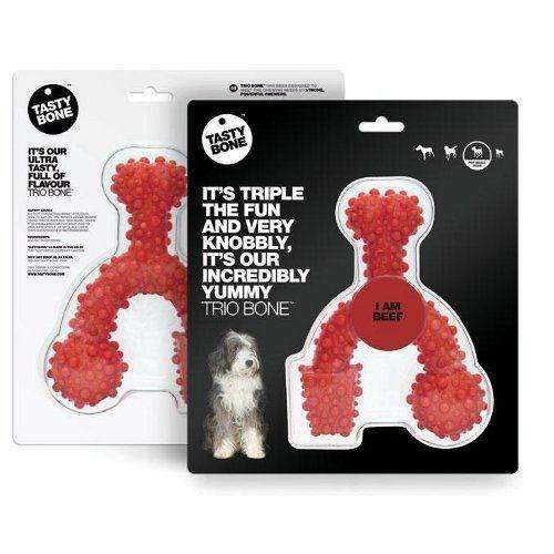 Tastybone Nylon dur arômatisé à mordre pour chien moyen à 11€50 (existe en deux saveurs) sur www.TiendAnimal.fr