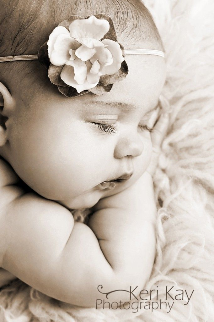 Pinterest Newborn Girl Photo Ideas