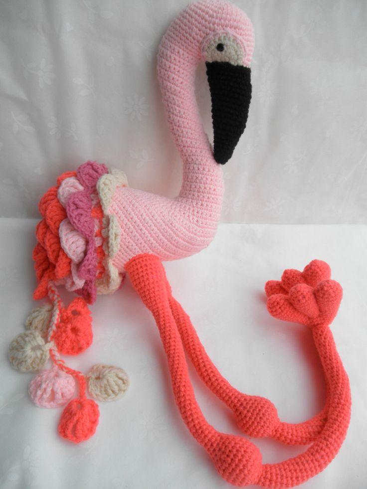 68 Beste Afbeeldingen Over Crochet Flamingo Op Pinterest