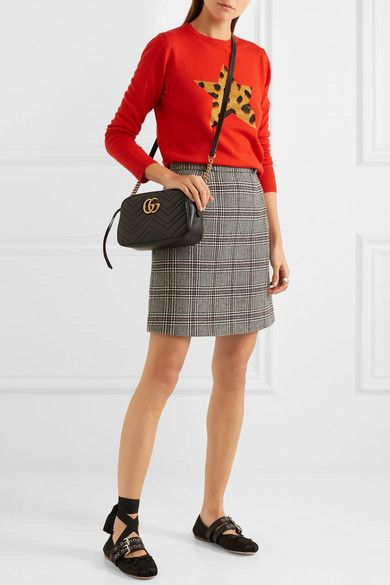 4821256ae1c7 Gucci | GG Marmont Camera small quilted leather shoulder bag |  NET-A-PORTER.COM