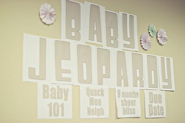 Baby Shower Jeopardy?