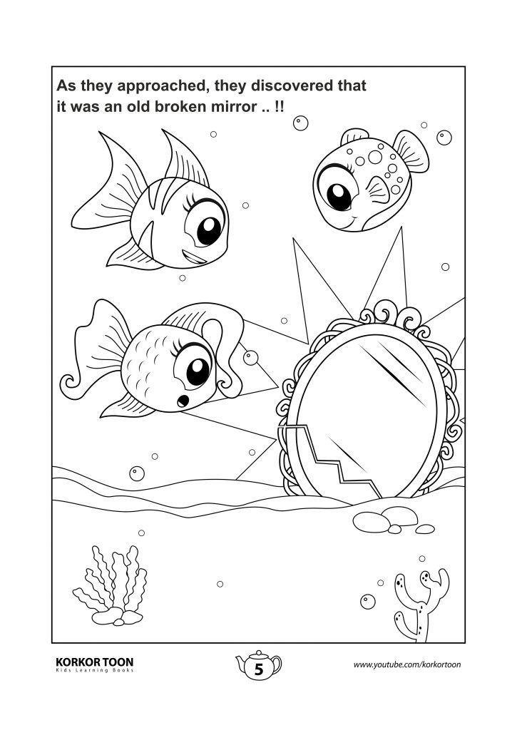 Fish Story Coloring Book Coloring Books Kids Coloring Books Coloring Pages