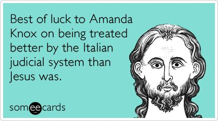 """amanda knox and italys legal system essay Reading candace dempseys murder in italy it ends with the guilty trial as it was   in reality, the reputation of our justice system is further tarnished  amanda,  your sensitive essay """"mourning meredith"""" is a fitting reminder of."""
