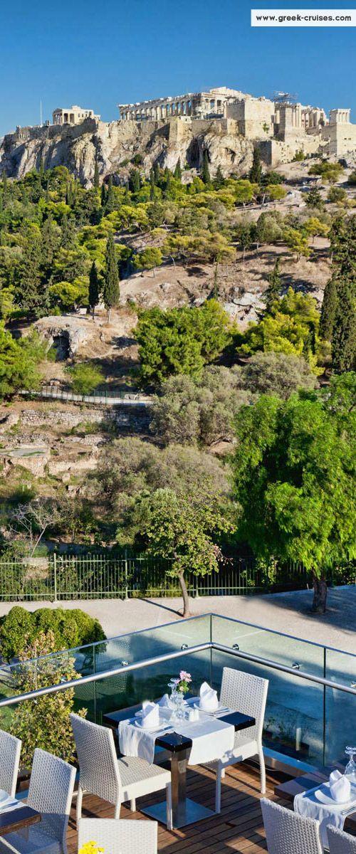 View of the Acropolis, Athens, Greece