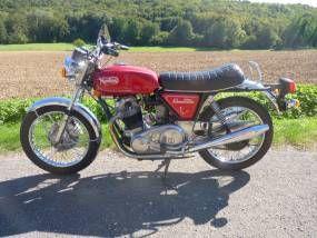 MOTO NORTON COMMANDO 850 1974