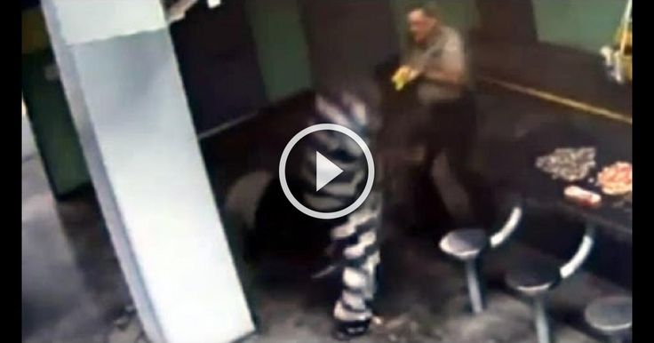 Indestructible Inmate Shrugs Off Tasers, Annihilates Two Prison Guards! Wow amazing