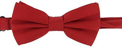 Red Plain Satin Silk Bow Tie by David Van Hagen - Tied David Van Hagen http://www.amazon.co.uk/dp/B00LO7YQ8U/ref=cm_sw_r_pi_dp_ACj0wb0AKJVC6