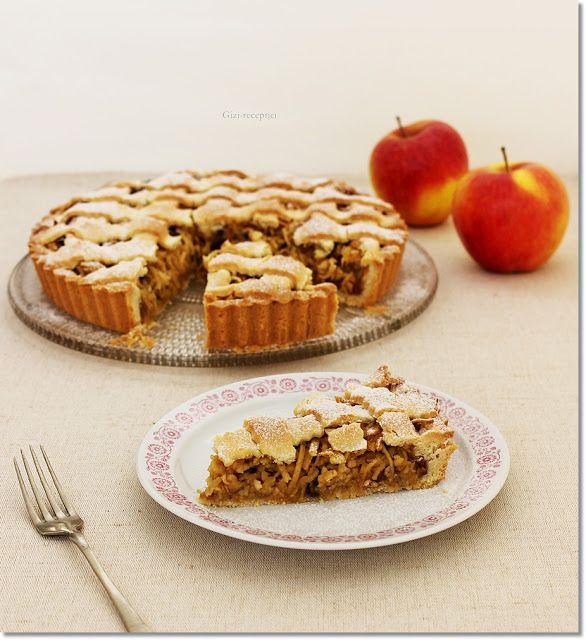 Gizi-receptjei.  Várok mindenkit.: Vajkaramellás almás pite.