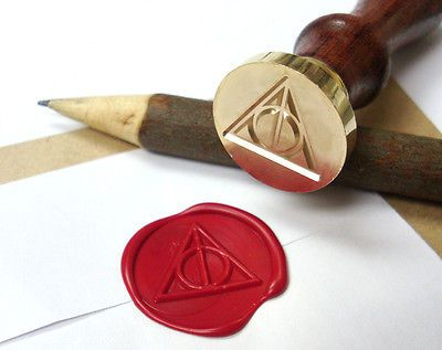 DEATHLY HALLOWS harry potter Wax Seal Stamp Party Invitation Letter #FF3 | Collectibles, Pens & Writing Instruments, Desktop Items | eBay!