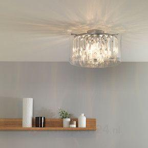Exclusieve badkamer-plafondlamp Asini veilig & makkelijk online bestellen op lampen24.nl