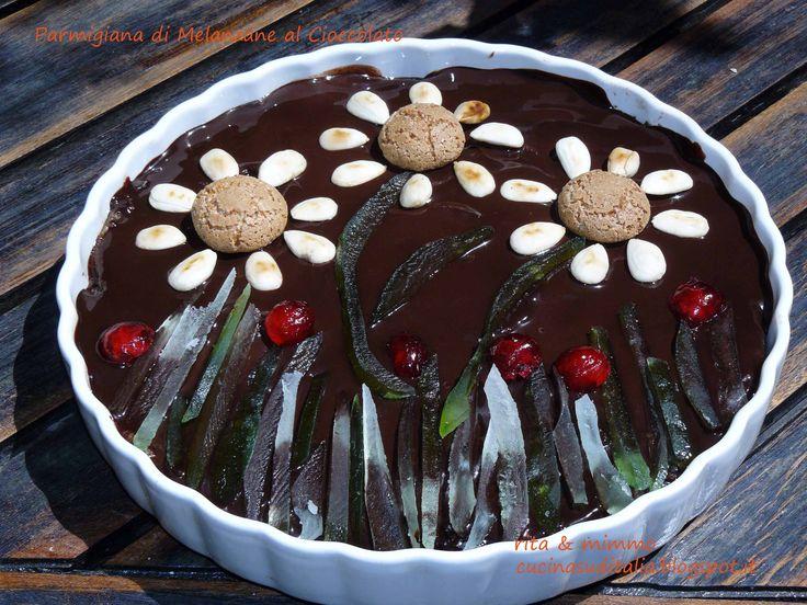 Parmigiana di Melanzane al Cioccolato - http://cucinasuditalia.blogspot.it/2010/07/parmigiana-al-cioccolato.html