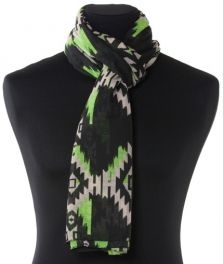 Lundorf Clair scarf polyester with print 180x110 cm