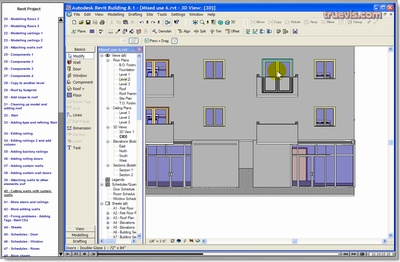 Revit tutorials dated but useful revit pinterest for Architecture firms that use revit