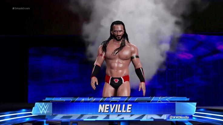 WWE 2K17 Neville Updated Attire HD PS4 GAMEPLAY
