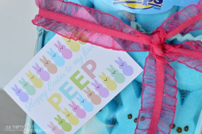 FREE Easter Peeps printable - Our Thrifty Ideas