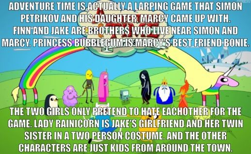 WHAT THE FAN THEORY???? Adventure Time fan theory I found!