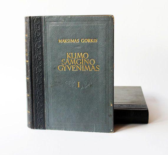 Vintage soviet book Maxim Gorky 'Life of Klim by LaReveuseVintage ...