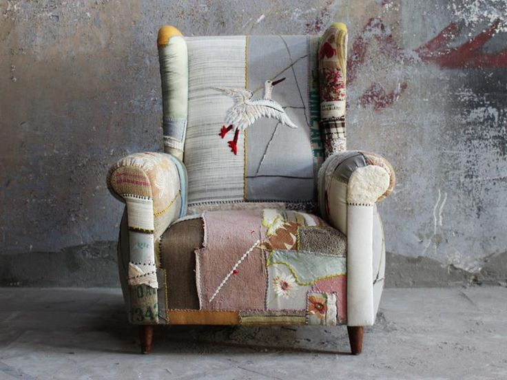 ZsaZsa Bellagio, patchwork chair cute!
