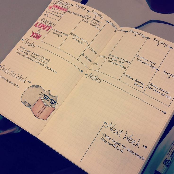 """""""Plan With Me Challenge - Day 3. Weekly? Daily? I use both to keep my schedule free of clutter. #planner #planwithmechallenge #bulletjournaljunkies…"""""""