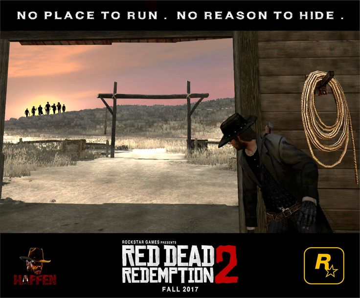 RDR 2 - No place to run, no reason to hide. by Haffen