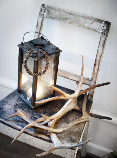 Winter walk.... would like my antique glider to match the finish of this chair.