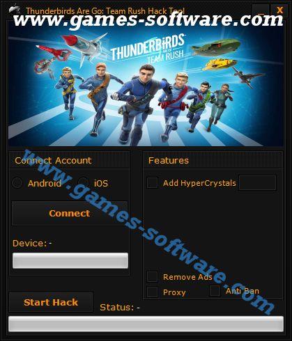Thunderbirds Are Go Team Rush Hack Tool