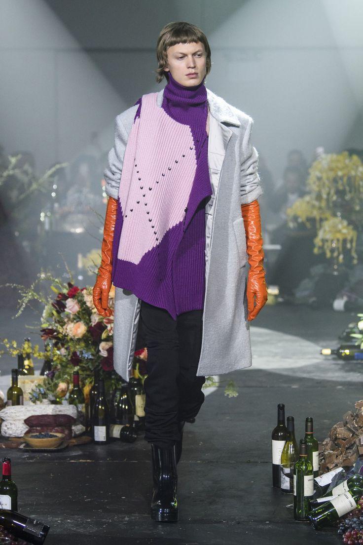 Raf Simons m RF18 0564 #purple #menswear #fashion #orange #gloves