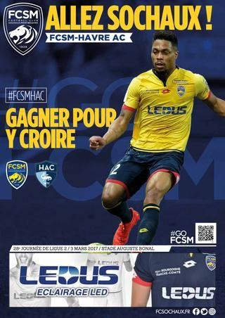 """""""Allez Sochaux !"""" - FCSM-Havre AC"""