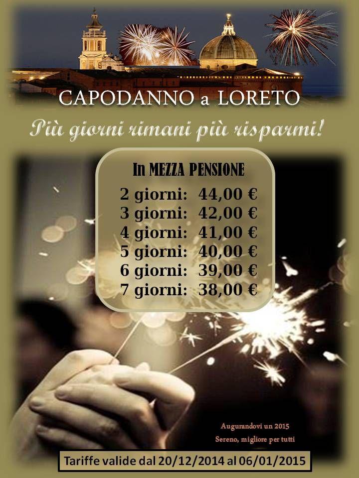 offerte Capodanno a Loreto italy