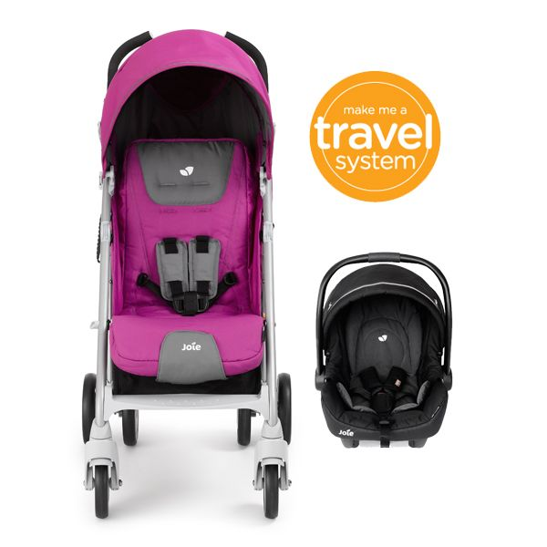 Ready to fold in a flash with a single touch, this Joie Brisk buggy's petite package fits in boots of all sizes.   Can be used from birth - 15 kg. http://www.justkidding-me.com/joie-brisk-stroller.html