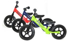 """Groupon - 12"""" Kids' Balance Bike with Steel Frame in Choice of Colour for £29.99 With Free Delivery (40% Off). Groupon deal price: £29.99"""