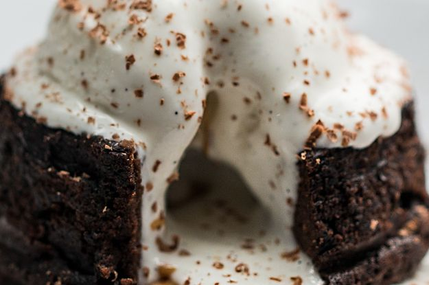 This Chocolate Peanut Butter Lava Cake Is The Perfect Indulgent Dessert