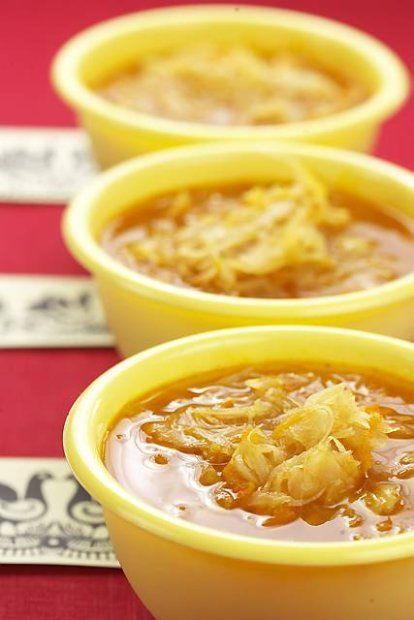 Po kurpiowsku - zupa z kapusty