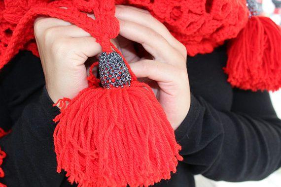 Shawl Scarves Gift Spring Winter Autumn Accessories Unique