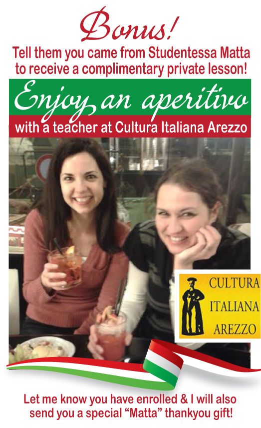 Arezzo - Cultura Italiana Language School - Studentessa mattaStudentessa matta