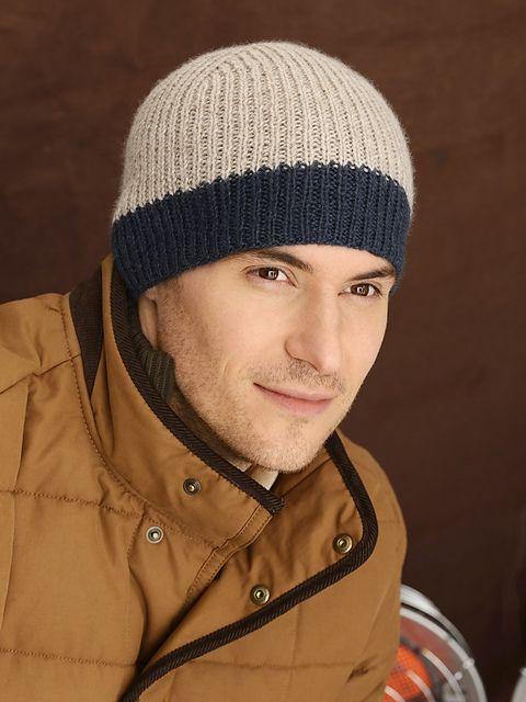 Men's Icehouse Hat Free Knitting Pattern