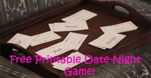 Date Night Game with your spouse! thedatingdivas.com #The Dating Divas #Date Night