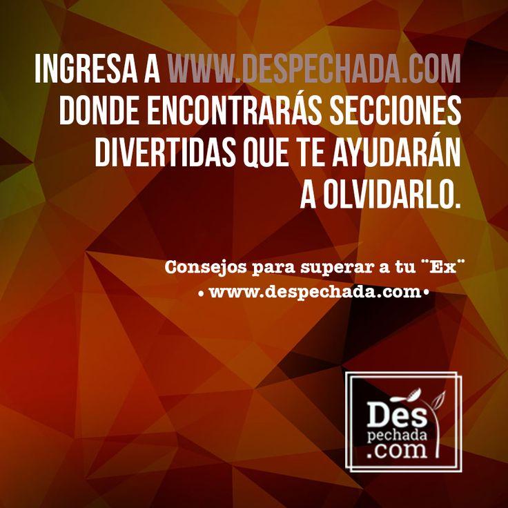 ¿Ya te registraste en www.despechada.com? Te estamos esperando!!!